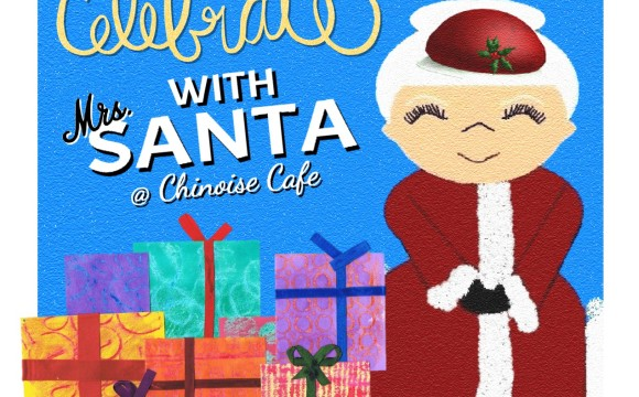 Celebrate with Mrs. Santa @ Chinoise in Issaquah.